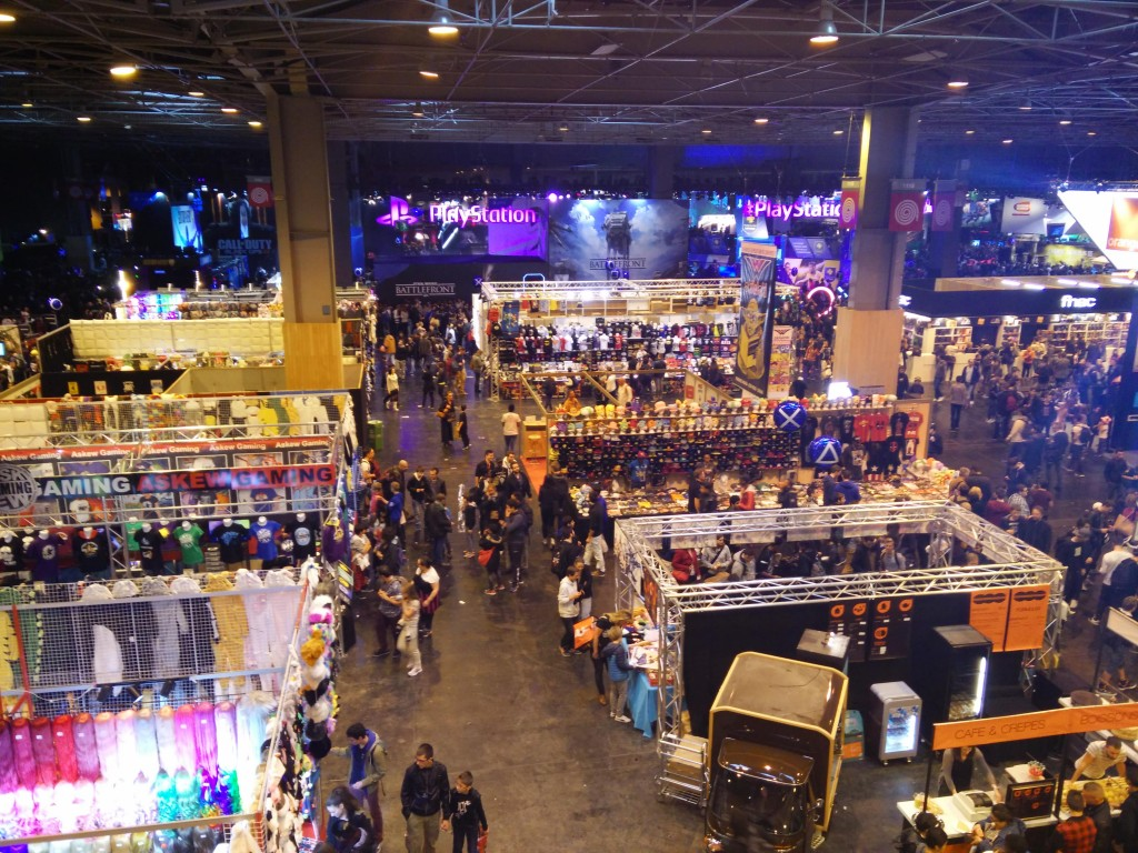 Tour du salon de la paris games week 2015 musga for Salon des ce paris 2015